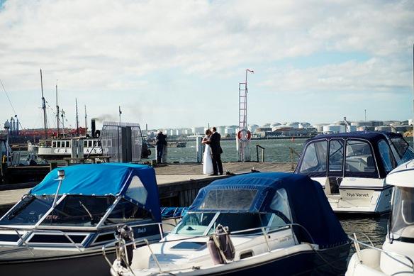 Maria & Henrik båten mingel_239